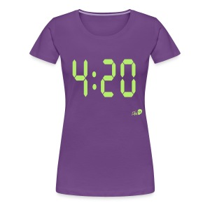 Time for 420 - Women's Premium T-Shirt