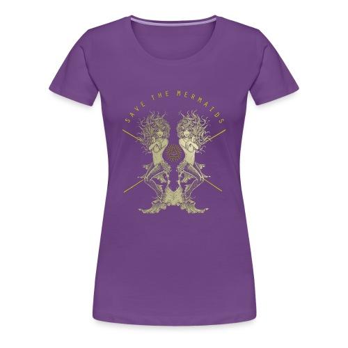 Meerjungfrau See Abenteuer Sirenen TShirt - Frauen Premium T-Shirt