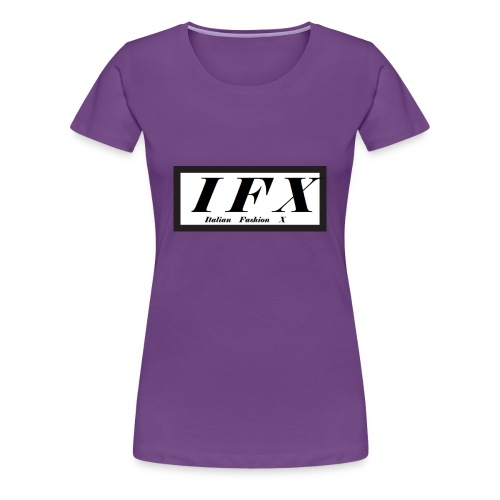 Logo Hoodie[IFX] - Frauen Premium T-Shirt
