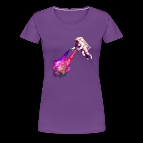 Disparando estrellas - Camiseta premium mujer