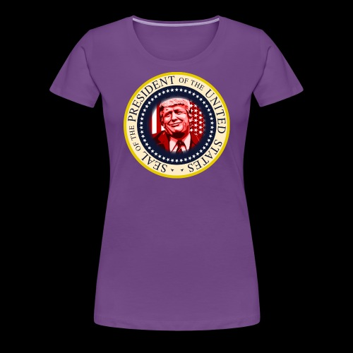 POTUS SEAL DONALD TRUMP - Women's Premium T-Shirt