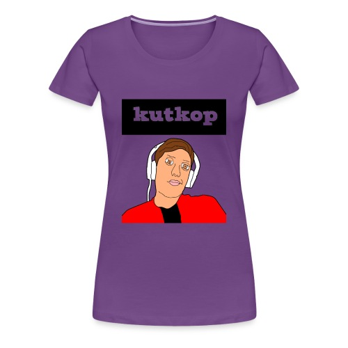 cartoon shirt/KutKopYT - Vrouwen Premium T-shirt