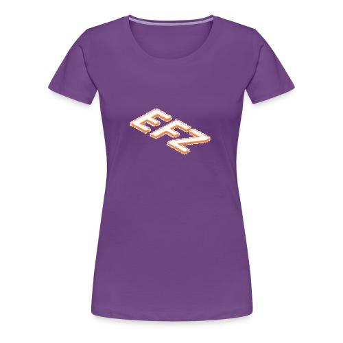 S.1 Shorts EFZ LOGOMAIN - Frauen Premium T-Shirt
