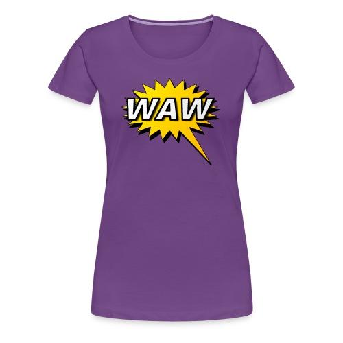 WAW - Camiseta premium mujer