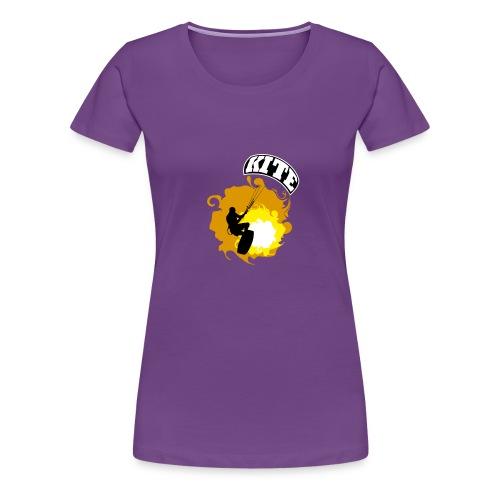 Kitesurf_02 - Camiseta premium mujer