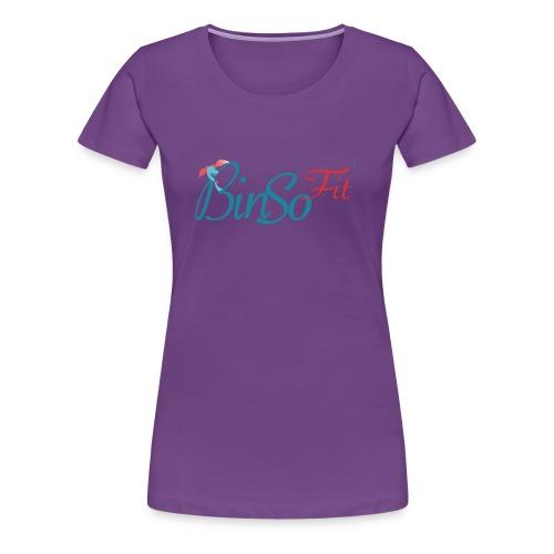 Binso Fit Tshirt Damen - Frauen Premium T-Shirt