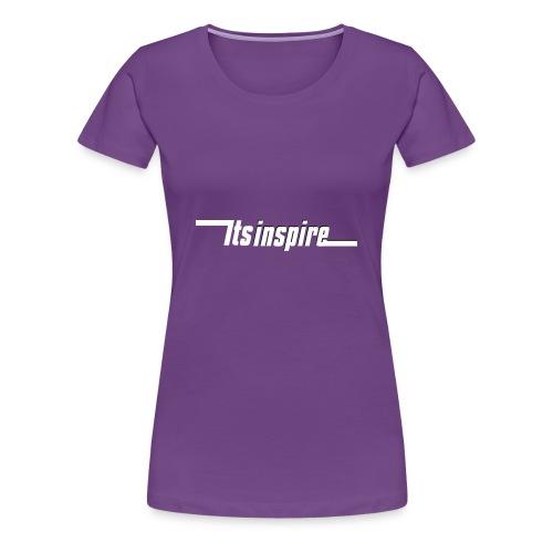 Itsinspire Logo - Women's Premium T-Shirt
