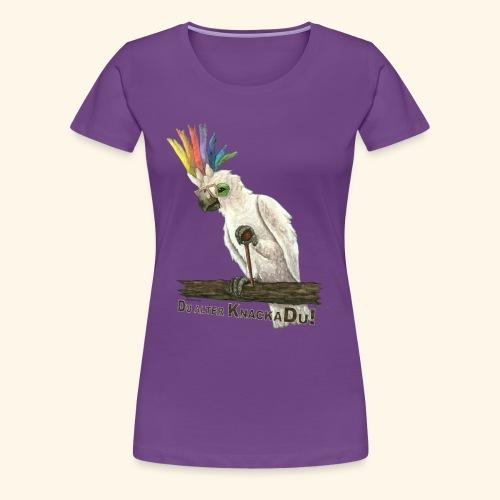 Armer, alter Knackadu! - Frauen Premium T-Shirt