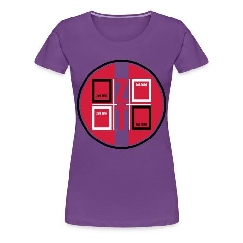 zork Toffel logo 017 - Frauen Premium T-Shirt