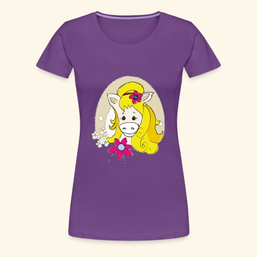 Eseldame Elsa_No.1 - Frauen Premium T-Shirt