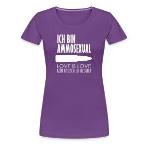 Ammosexual (weiß) - Frauen Premium T-Shirt
