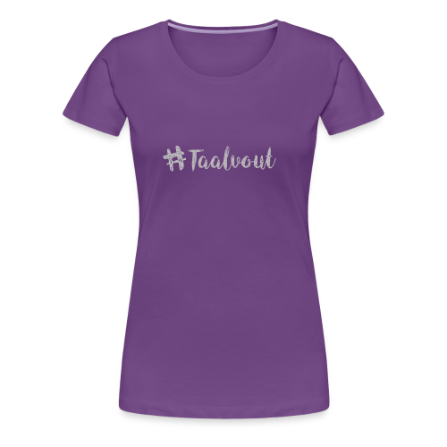 Taalvout - Vrouwen Premium T-shirt