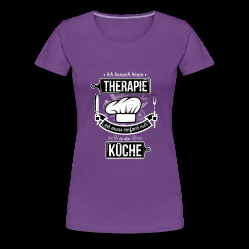 Kochtherapie - Women's Premium T-Shirt