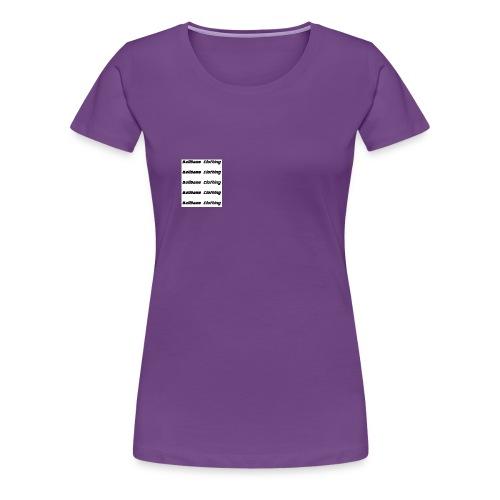 BallGame Clothing Rows - Women's Premium T-Shirt