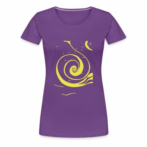 Une spirale de lumière ! - T-shirt Premium Femme