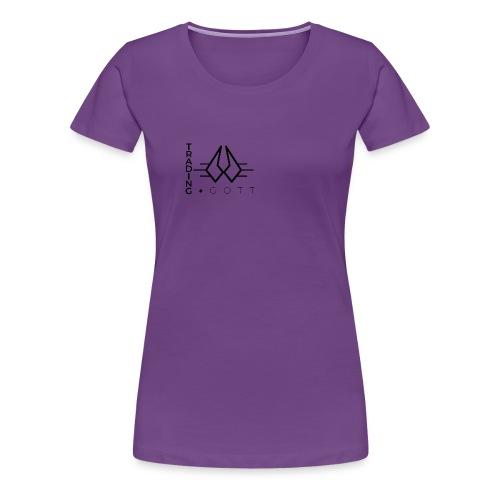 TRADINGGOTT Emblem - Frauen Premium T-Shirt
