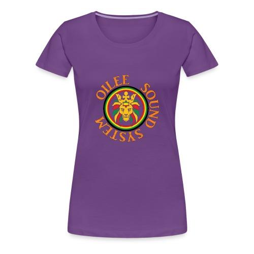 logo oilee sound - T-shirt Premium Femme