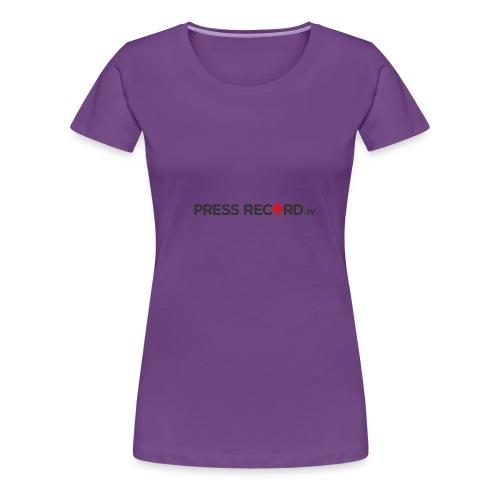 PressRecordTV - Women's Premium T-Shirt