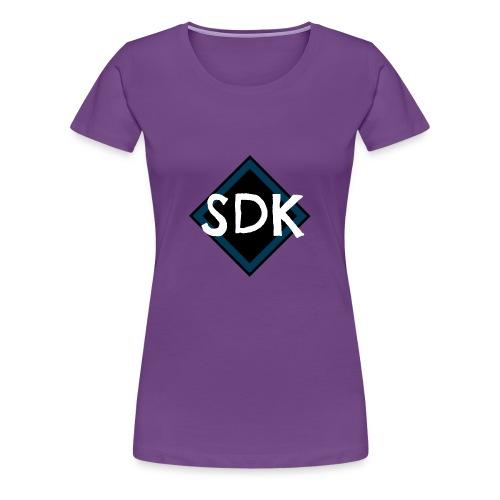 Snapback cap - Dame premium T-shirt