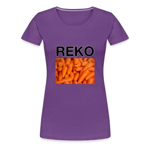REKOpaita porkkanat - Naisten premium t-paita