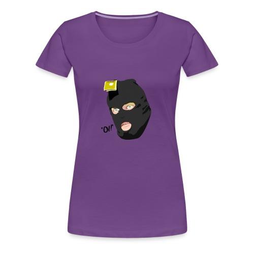 BLACK_CONDOM_SHIRT_PIC_1 - Premium T-skjorte for kvinner