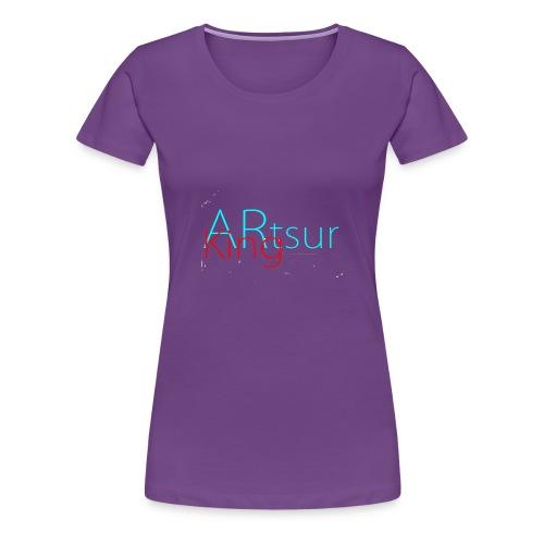 ARtsurKing Logo - Dame premium T-shirt