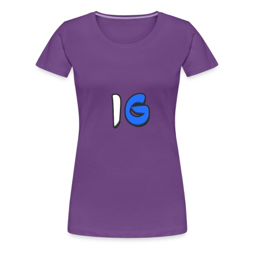 Offical Second Coloured Design No Background - Women's Premium T-Shirt