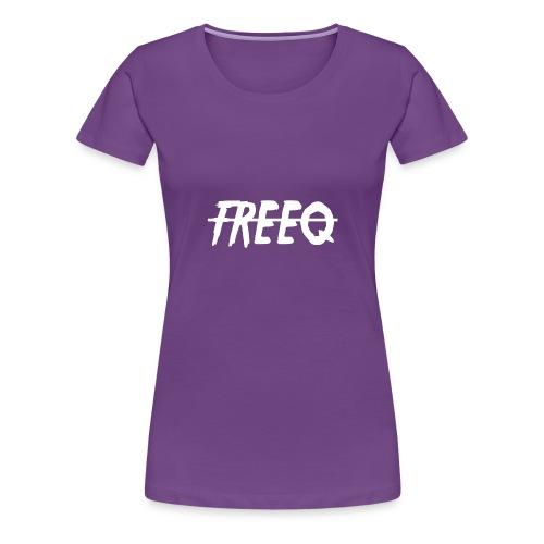 freeq - Premium-T-shirt dam