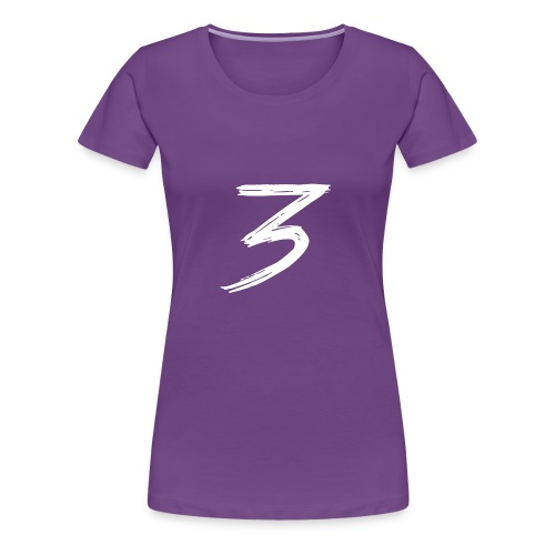 3 Logo - Maglietta Premium da donna