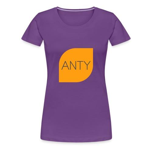 ANTY LOGO - Frauen Premium T-Shirt