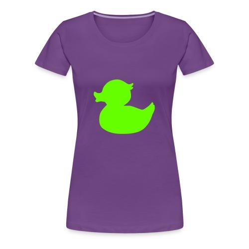 Green Duck - Vrouwen Premium T-shirt