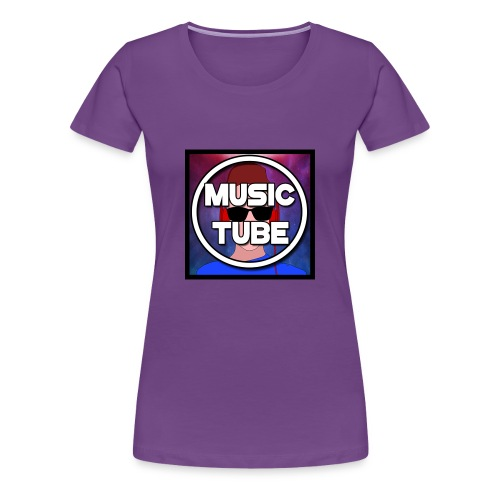 Music Tube - Women's Premium T-Shirt