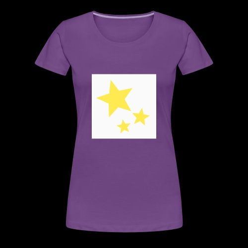 Dazzle Zazzle Stars - Women's Premium T-Shirt