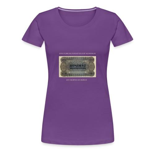 Est modus in rebus - Frauen Premium T-Shirt