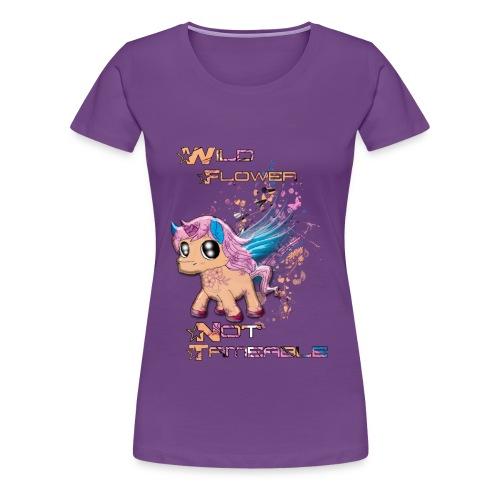 Wild Unicorn - Frauen Premium T-Shirt