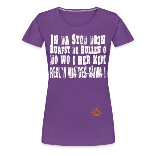 SaeiwaRegeln1 - Frauen Premium T-Shirt
