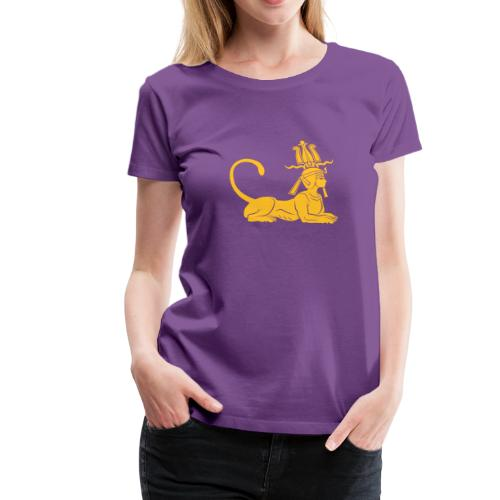 Ägyptische Sphinx - Frauen Premium T-Shirt