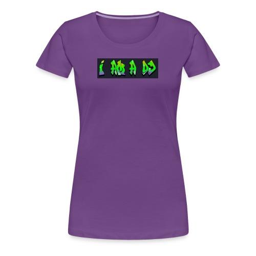je suis un dj - T-shirt Premium Femme
