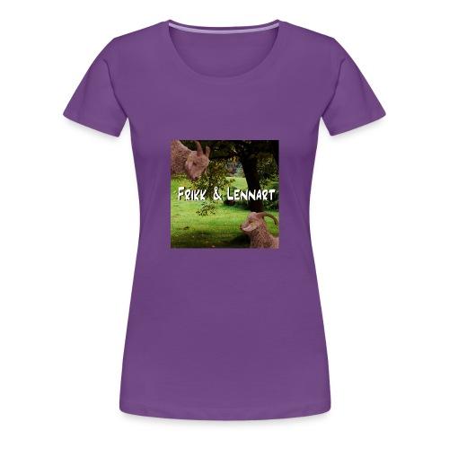 Frikk og Lennart - Premium T-skjorte for kvinner