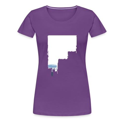 Urban flat design - Frauen Premium T-Shirt