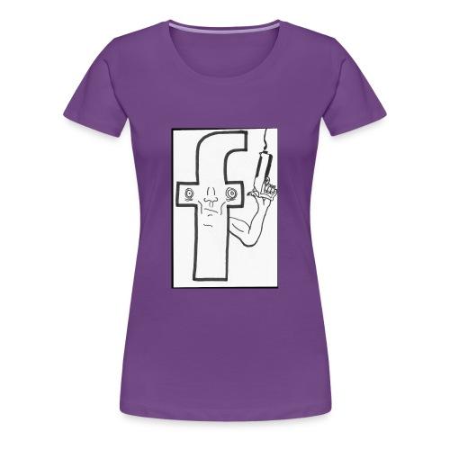 Monsieur Fessbouke - T-shirt Premium Femme