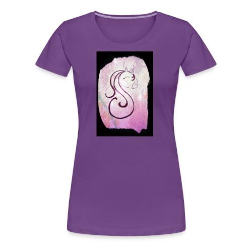 Lili la licorne - T-shirt Premium Femme