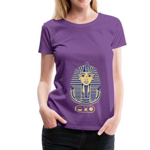 Tutanchamun (zweifarbig) - Frauen Premium T-Shirt