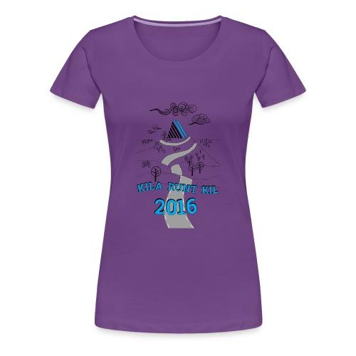 Kila runt Kil 2016 - Dam - Premium-T-shirt dam