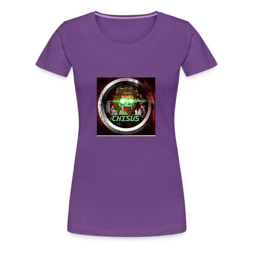 Chisus Logo - Frauen Premium T-Shirt