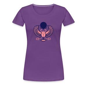 Geflügelter Skarabäus - Frauen Premium T-Shirt
