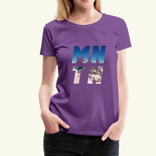 Mountain - Frauen Premium T-Shirt