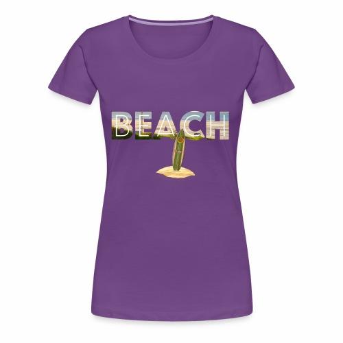 BEACH 1 - Frauen Premium T-Shirt