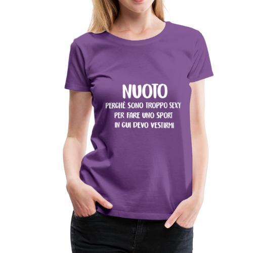 NUOTATORI SEXY - Maglietta Premium da donna