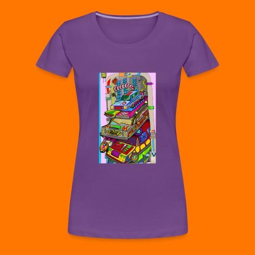 caaars - Maglietta Premium da donna